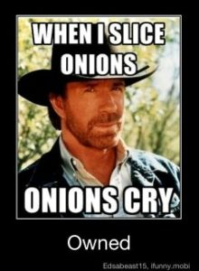onions cry